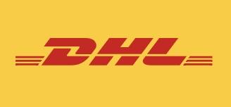 Joe Wiedemann Global Media Spokesperson DHL Express Logo DHL