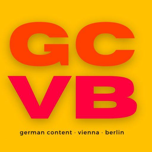 German Content Vienna Berlin Communications for the German market Logo GCVB